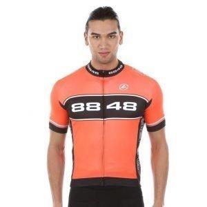 8848 Altitude Franca 2.0 Jersey Pyöräilypaita Oranssi / Harmaa