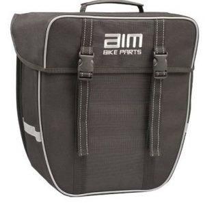 AIM Metro sivulaukku 17L musta
