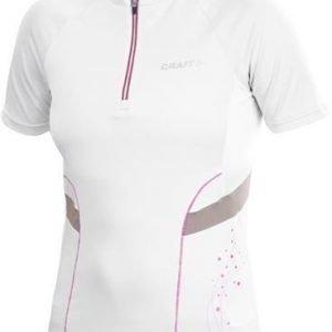 Active Bike Jersey W valkoinen/beige/pinkki