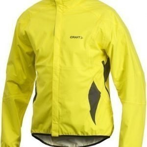 Active Bike Rain Jacket M keltainen