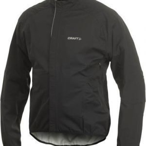 Active Bike Rain Jacket M musta