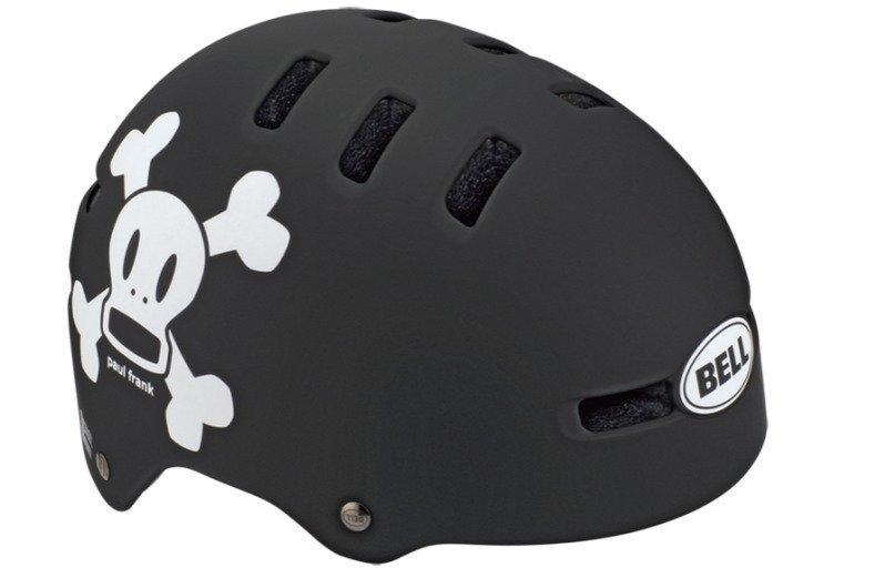 Bell Fraction Musta / Valkoinen PF Skull pyöräilykypärä
