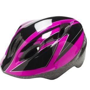 Bike System Jr Pink Bat M 51-56 Cm Pinkki-Musta Pyöräilykypärä