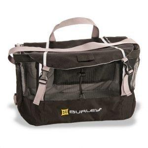 Burley Travoy ostoslaukku musta (ylälaukku)