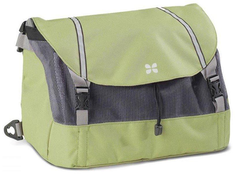 Burley Travoy ostoslaukku vihreä (ylälaukku)