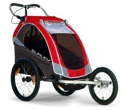 Burley juoksupaketti Solo lasten pyöräkärryihin