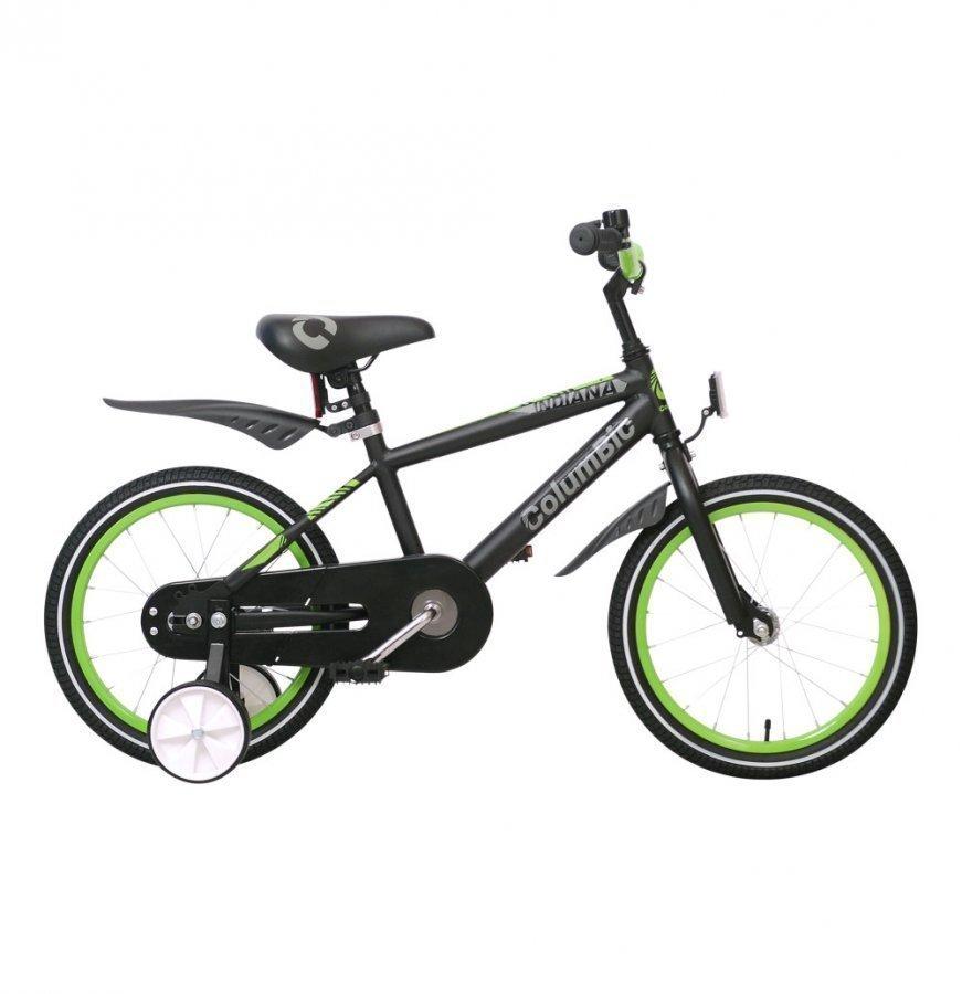 Columbic Polkupyörä 16 Boy 1 Vaihde Musta-Lime