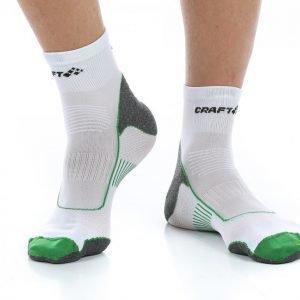 Craft Active Bike Sock Pyöräilysukat Valkoinen