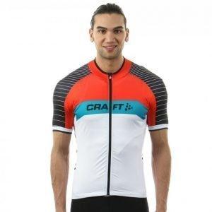 Craft Gran Fondo Jersey Pyöräilypaita Valkoinen