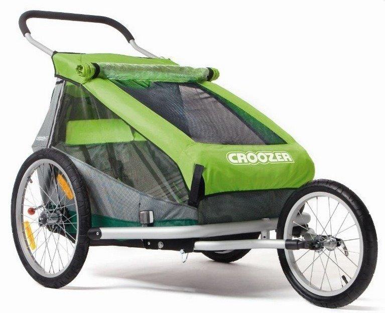 Croozer Kid for 2 pyöräkärry kahdelle lapselle (2015)