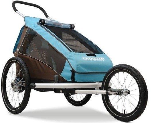 Croozer kid Plus for 2 pyöräkärry kahdelle lapselle (2015)