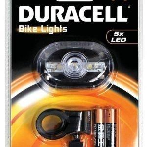 Duracell pyörän etuvalo 5 ledillä