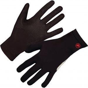 Endura Gripper Fleece Glove Pyöräilyhanskat Musta