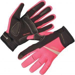Endura Luminite Glove Pyöräilyhanskat Pinkki