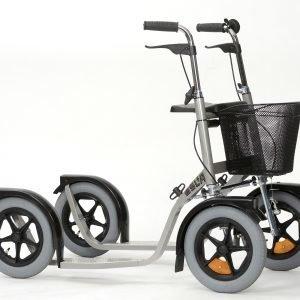 Esla 3800 Citymax Potkupyörä Hopea
