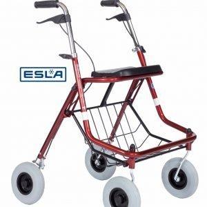 Esla 6504 Kävelypyörä Punainen