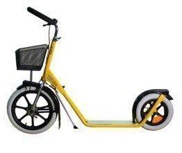Esla Potkulauta malli 4100 Hybridi keltainen