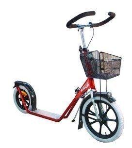Esla Potkulauta malli 4100 Hybridi punainen