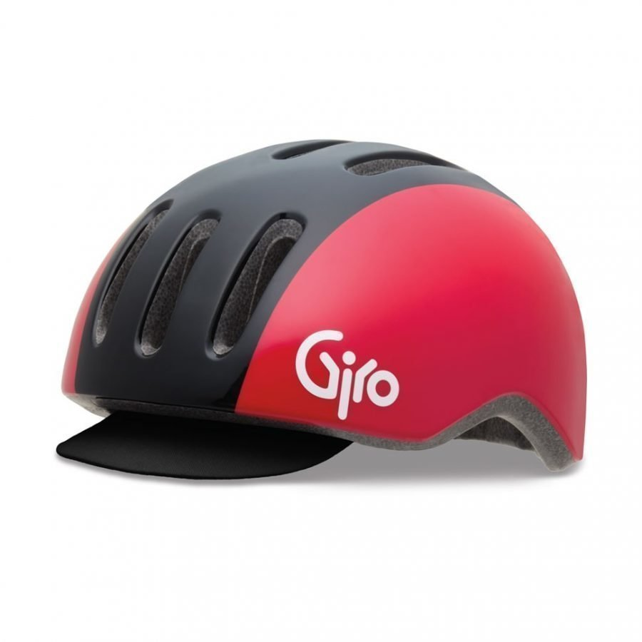 Giro Reverb Black Red Retro