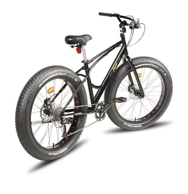 Helkama Fat Jopo 26'' 8-Vaihteinen Polkupyörä Musta