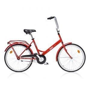 Helkama Jopo 24'' 1-Vaihteinen Polkupyörä Punainen