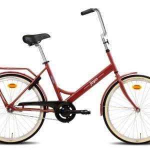 Helkama Jopo 24'' Polkupyörä Tummanpunainen