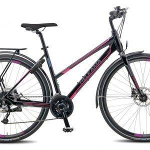 Helkama S1000 24-Vaihteinen Naisten Polkupyörä Musta
