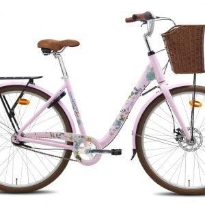 Helkama Saimi 7-Vaihteinen Vaaleanpunainen Naisten Polkupyörä
