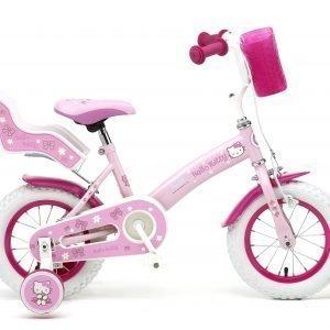 """Hellokitty 12"""" Pinkki Tyttöjen Polkupyörä"""