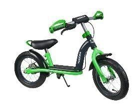 Hudora Running Bike Cruiser Boy 12 Vihreä - potkupyörä