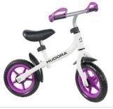 Hudora Running bike Bikey 3.0 Girl 10 Valoinen/lila - potkupyörä