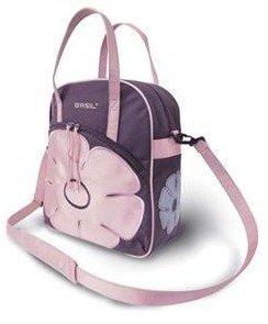 Jasmin ostoslaukku /pyörälaukku lila/pinkki