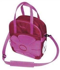 Jasmin ostoslaukku /pyörälaukku pun/pinkki
