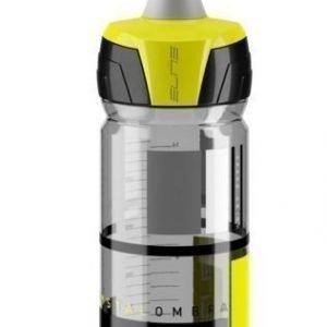 Juomapullo Elite Crystal Ombra Fume 550ml keltainen