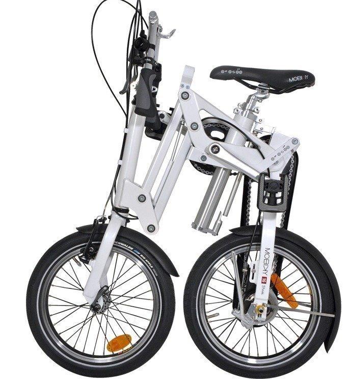 Mobiky kokoontaittuva polkupyörä Steve