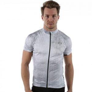Newline Imotion Print Bike Jersey Pyöräilypaita Harmaa / Valkoinen