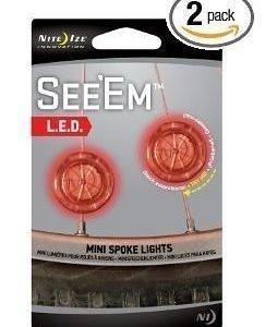 Niteize Spokelight See'em LED pyörävalo punainen