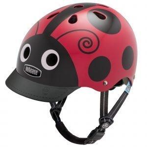Nutcase Little Nutty Lasten Pyöräilykypärä Ladybug