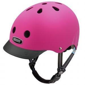 Nutcase Little Nutty Lasten Pyöräilykypärä Pink Bubbles