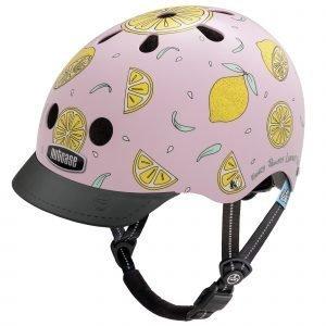 Nutcase Little Nutty Lasten Pyöräilykypärä Pink Lemonade