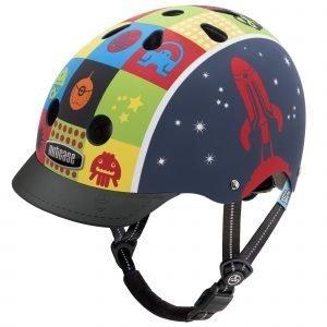 Nutcase Little Nutty Lasten Pyöräilykypärä Space Cadet Matte