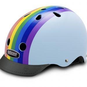 Nutcase Street Pyöräilykypärä M Rainbow Sky