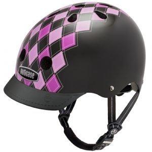 Nutcase Street Pyöräilykypärä Preppy Pink