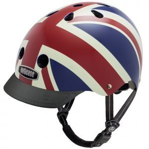 Nutcase Street Pyöräilykypärä Union Jack