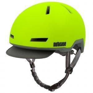 Nutcase Tracer Pyöräilykypärä Spark Yellow Matte