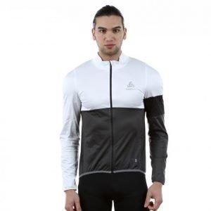 Odlo Mistral Logic Jacket Pyöräilytakki Musta / Valkoinen