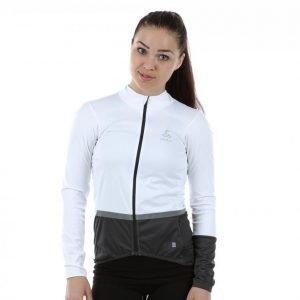 Odlo Mistral Logic Jacket Pyöräilytakki Valkoinen / Musta