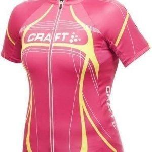 Performance Bike Tour Jersey W pinkki/lime/valkoinen