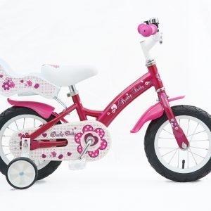 """Pretty Dolly 12"""" Pinkki Tyttöjen Polkupyörä"""