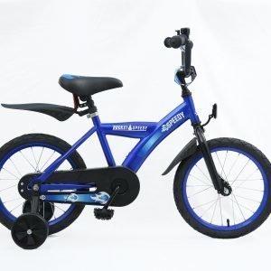 """Rocket Speedy Mx 16"""" Sininen Lasten Polkupyörä"""